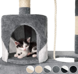 Acheter arbre à chat avec hamac tectake