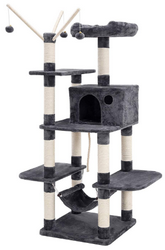 Grand arbre à chat Songmics PCT86G